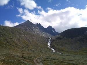 Nordre Skagastølstind i front
