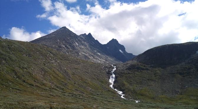 Nordre Skagastølstind 2167 moh