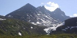 Dyrhaugsryggen sett fra stien mot Ringsdalen