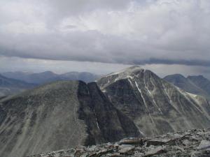 Vinjeronden og Rondeslottet sett fra Storronden