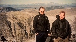 Grei og enkel tur til Veslesmeden for Bjørn og Torger